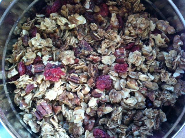 Winter Spice Granola