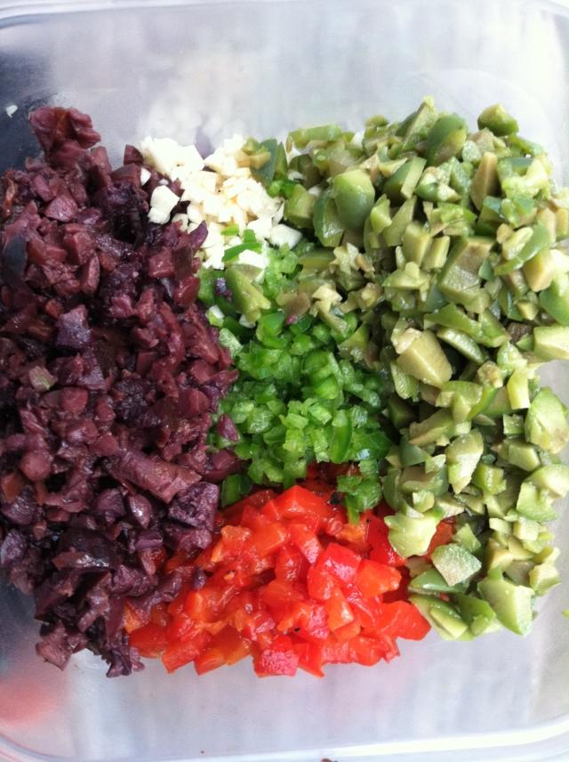 Olive Tapenade Prep