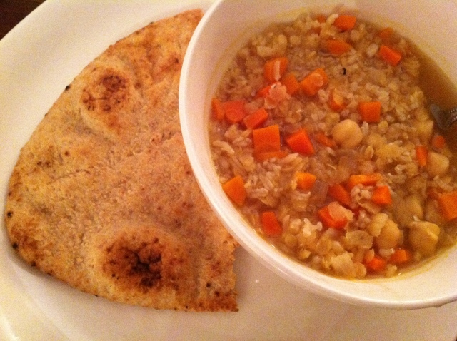 Arabian Rice & Lentil Soup 004