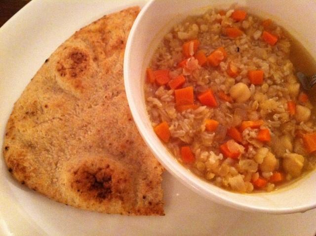 Arabian Rice & Lentil Soup 004