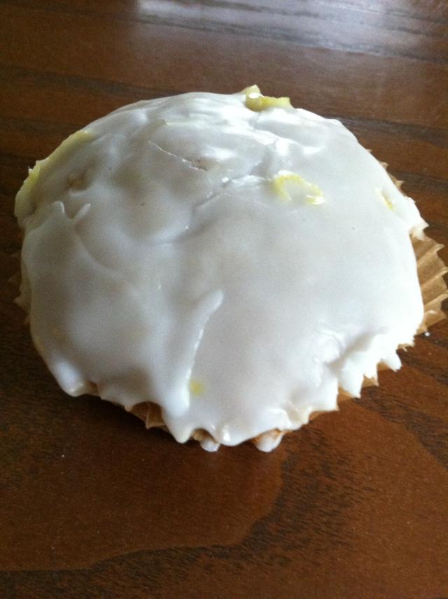 Banana Cupcake with Lemon Frosting