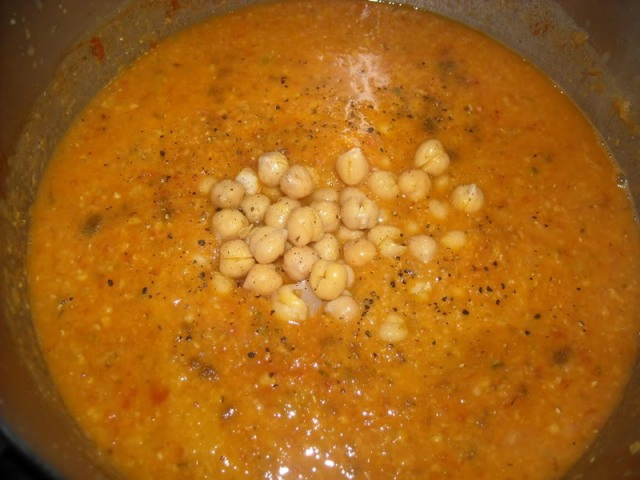 Lemon Chickpea Lentil Soup