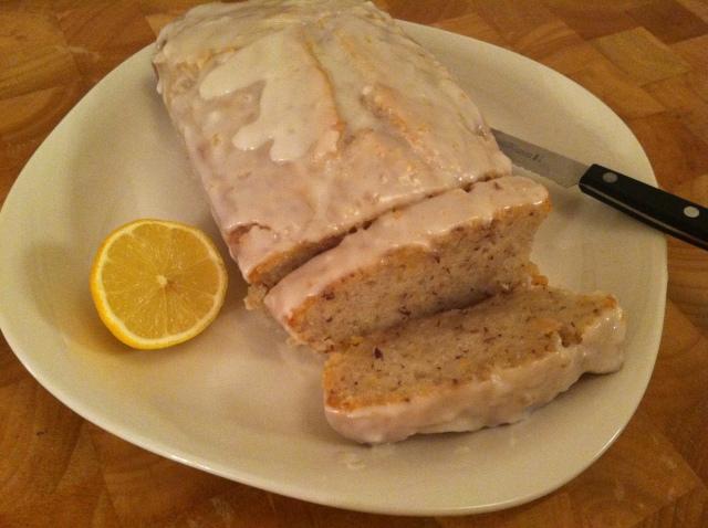 Lemon Yogurt Cake 008