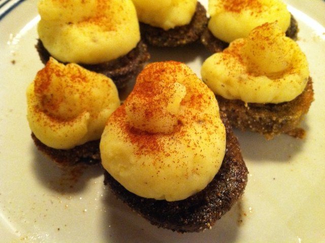 Potato Stuffed Mushrooms 011