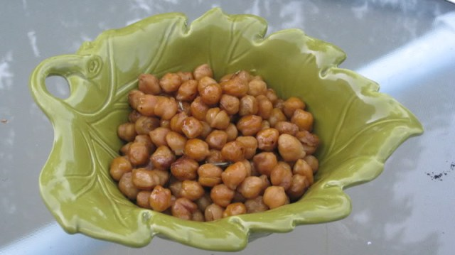 Tamari Roasted Chickpea
