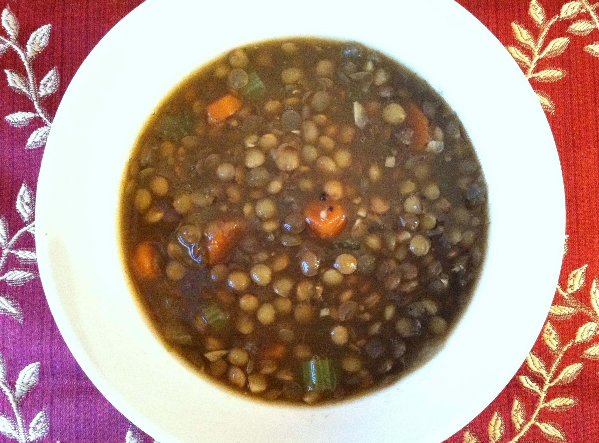 Lentil Soup 004